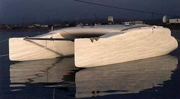Kurt Hughes Multihull Design - Catamarans and Trimarans for Cruising and Charter - 30' Cruising ...