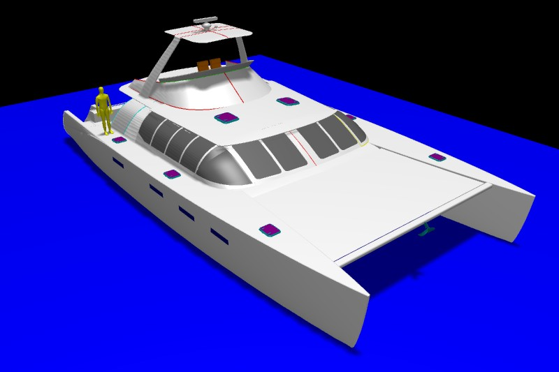 Kurt Hughes Multihull Design - Catamarans and Trimarans ...