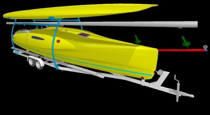 Kurt Hughes Multihull Design - Catamarans and Trimarans for Cruising and Charter - A Trimaran ...
